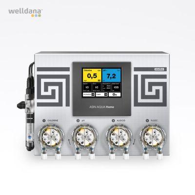 ASIN Aqua Home CLFvs, free chlorine Aseko, incl. Sensors and 4 dosing pumps
