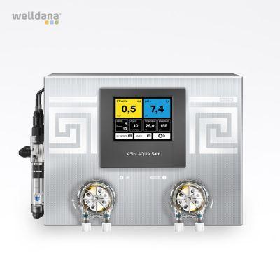 ASIN Aqua Salt CLFvs, electrolyzer Incl. Cell, sensors and 2 pumps