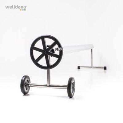 Solar blanket roller base SS With wheels