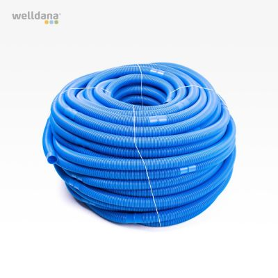 100 mtr Vac hose, 38 mm blue
