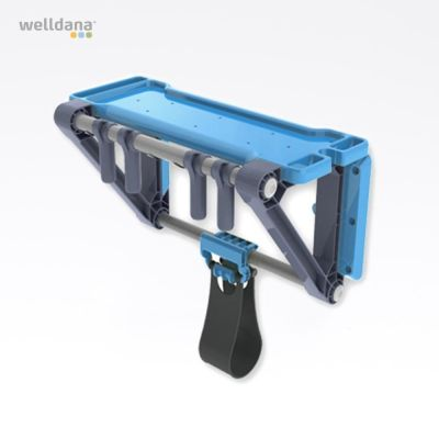 Comfortana multi-purpose rack for pool accessories