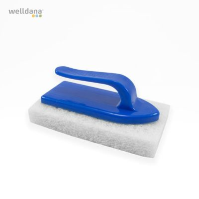Scrubbing brush, blue