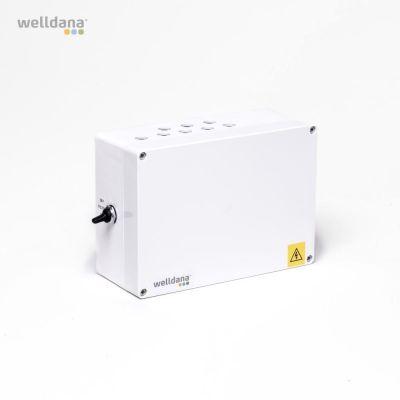 Welldana® Pool control 1x230V /3x400 incl. temp. sensor