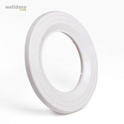 Flange hvid m. universal kit f.LED par 56 Seamaid