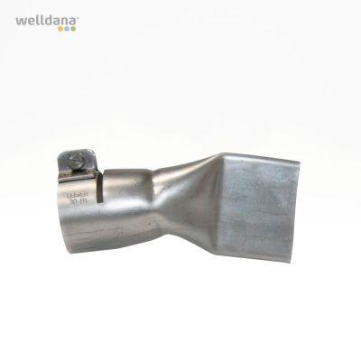 Wide slot nozzle, 40mm. 22,5 º