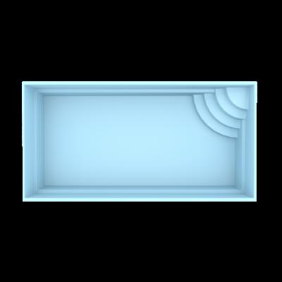 Fiber pool model Bern 6 x 3 x 1,5 m