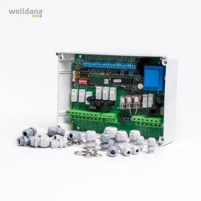 Complete base for PSC control with PCB