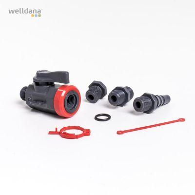 Ball valve 1/4