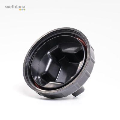 Lid+o-ring for chlorine feeder for model 30-001394