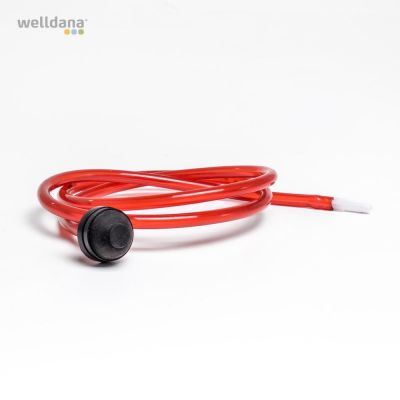 PN tube, red with connect. New model 27mm Ø