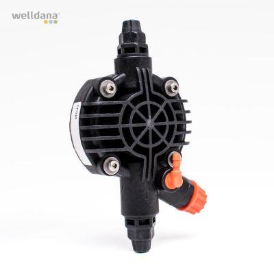 Complet pump head 1 & 5 ltr. F/chemical pump, new model