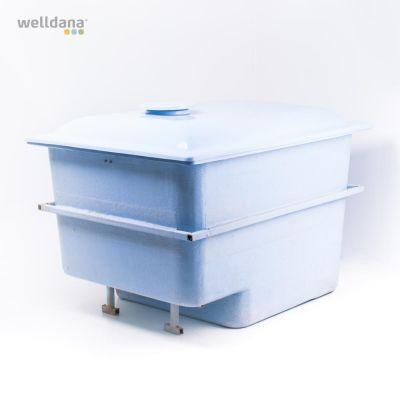 Teknik boks t. nedgravning 217 x 170 x 123 cm/glasfiber