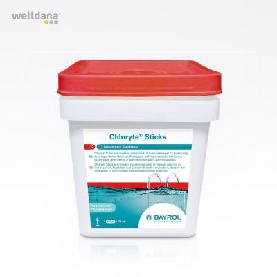 Chloryte Sticks 4,5 kg 300 gr.calcium chlorine in foil roll