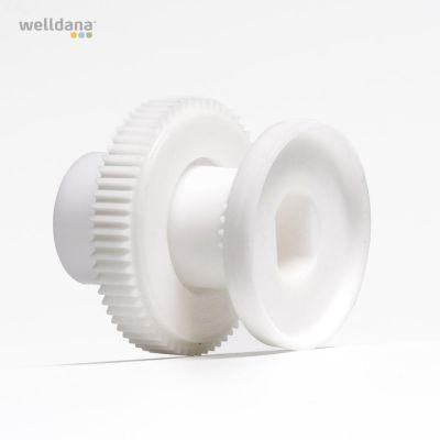 Gear set (pos. 9+10+11), f/3 way valve