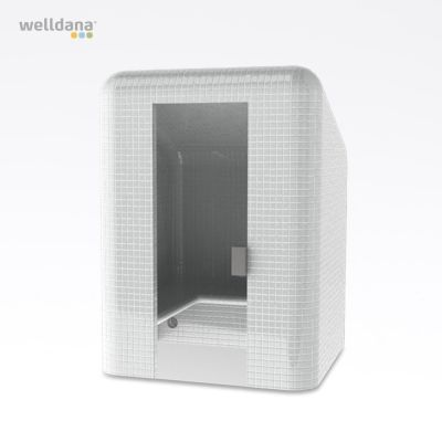 Harvia Tacco Steam cabin, without cladding Polystyrene, water resistant, 166.0x225.0x166.0cm