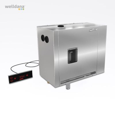 Helix PRO. Steam gen. 30kw incl. remote control.  400V3N