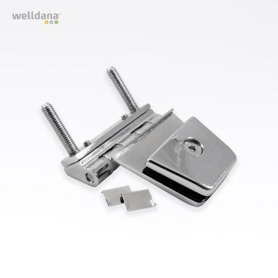 Set of hinges for sauna door Model from before 2011