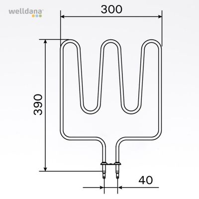 1500W element, 240V