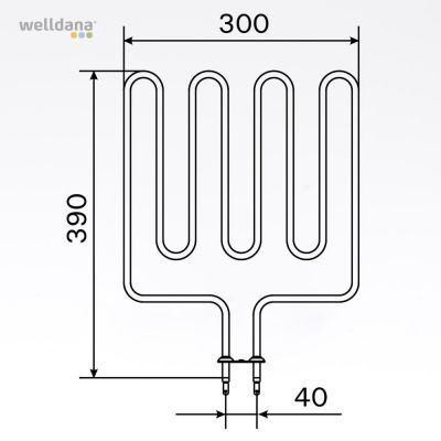 2000W element, 240V