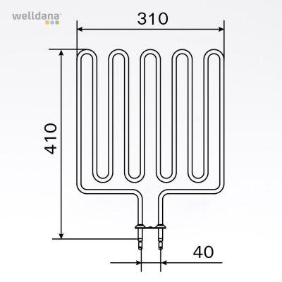 2670W element, 240V