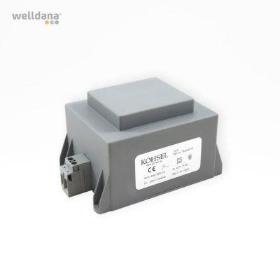 Welldana® Spa & bad trafo 60VA, 230/12V, IP25