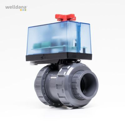 Two-way motor valves