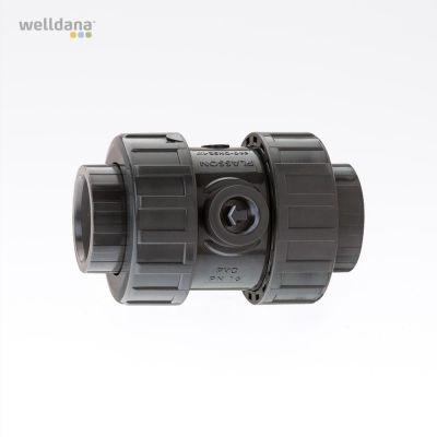 Non-return valve without spring