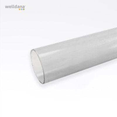 Transparent PVC pipe