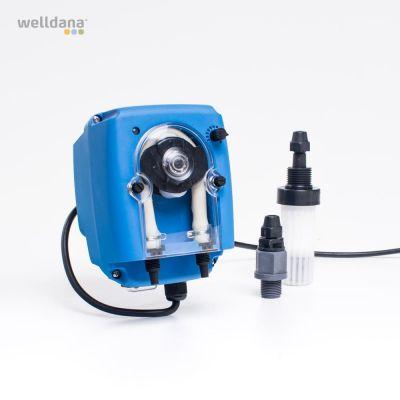 Peristaltisk pumpe 1 eller 4 L