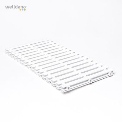 Straight grate to overflow gutter