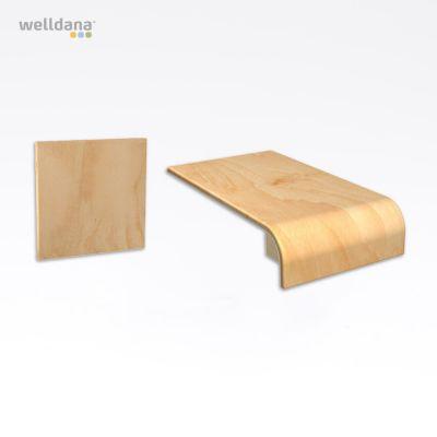 Harvia Ventura Sæde + ryg elementer, 6stk Fuma Finer, 30.0x65.0cm