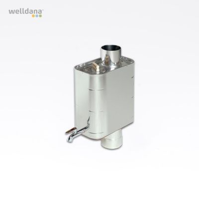 Harvia Water heater, pipe model 22L Steel, 22L, 19.0x35.5x41.0cm, not for Harvia 50