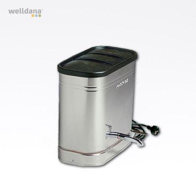 Harvia water heater, wall model 27L 1,8kW Steel, 27L, 21.0x42.0x40.0cm, 10A 1.8kW